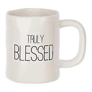 Truly Blessed Hammered Mug