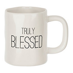 Truly Blessed Hammered Mug