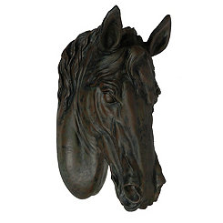 Horse Head Wall Plaque