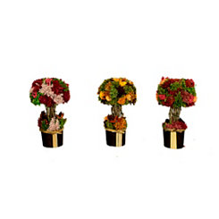 Blooming Garden Floral Bunches, Set of 3