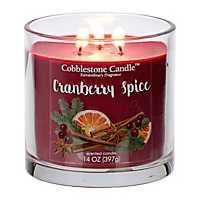 Cranberry Spice Jar Candle