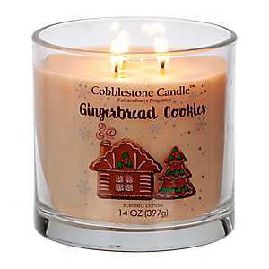 Gingerbread Cookies Jar Candle