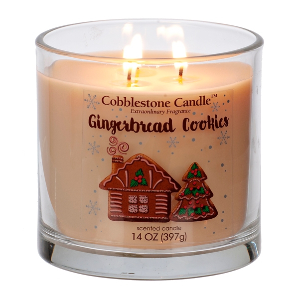Gingerbread Cookies Jar Candle