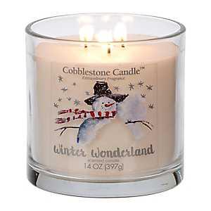 Winter Wonderland Jar Candle
