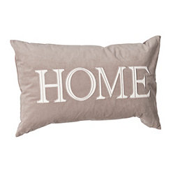Tan Velvet Home Pillow