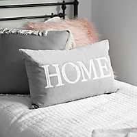 Tan Velvet Home Pillow