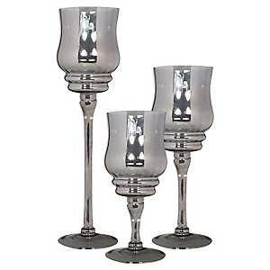 Platinum Glass Charismas, Set of 3