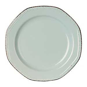 Blue Antique Rim Dinner Plate