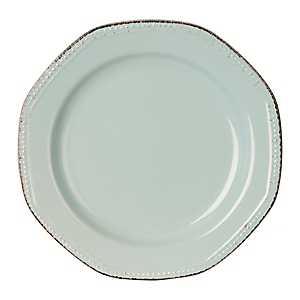 Blue Antique Rim Dinner Plate