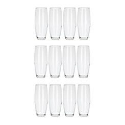 Stemless Champagne Flutes, Set of 12