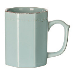 Blue Antique Ceramic Mug