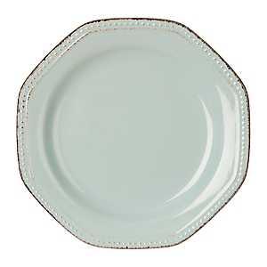 Blue Antique Rim Salad Plate