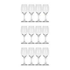 Classic Wine Glasses, Set of 12