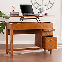 Edward Mid-Century Adjustable Desk