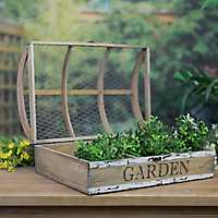 Mesh Top Growing Case Garden Planter