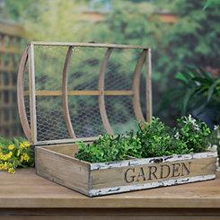 Mesh Top Growing Case Garden Planter