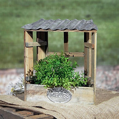 Roofed Window Alcove Herb Planter