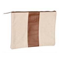 Monogram Leather Cosmetic Bags