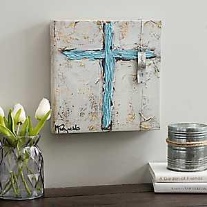 Faith Cross Canvas Art Print