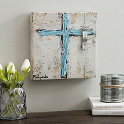 Faith Cross Canvas Art Print