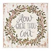 How Great Thou Art Canvas Art Print