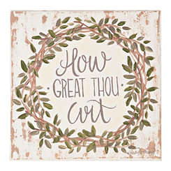 How Great Thou Art Canvas Art Print