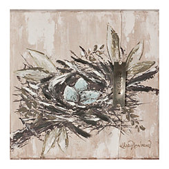 Bird Nest Canvas Art Print