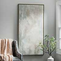 Haze Framed Canvas Art Print