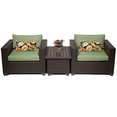 Cilantro Cove Bay Outdoor Seating Set, Set of 3