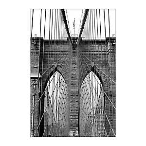 NYC Bridge Canvas Art Print