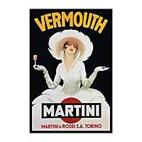 Vermouth Martini Canvas Art Print
