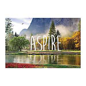 Aspire Nature Canvas Art Print