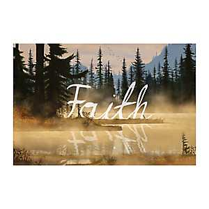 Faith Creek Canvas Art Print
