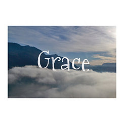 Grace Mountaintop Canvas Art Print