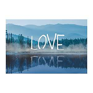 Love Lake Canvas Art Print