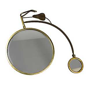 Gold Bicycle Mirror