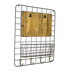 Clips and Hooks Wall Organizer