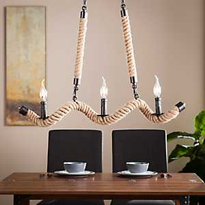 Sweetbay Twisted Rope Chandelier