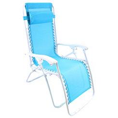 Turquoise Zero Gravity Chair