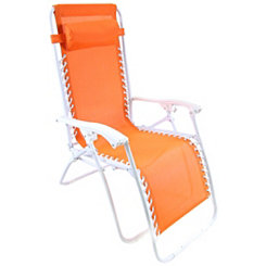 Orange Zero Gravity Chair