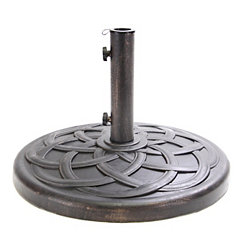 Bronze Polystone Umbrella Base