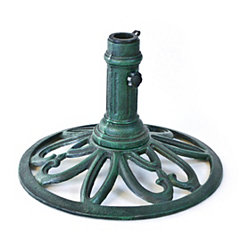 Verdigris Cast Iron Umbrella Base