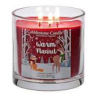 Warm Flannel Jar Candle