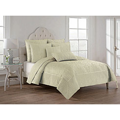 Bone Hannah 3-pc. King Quilt Set
