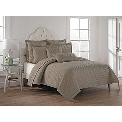 Smoke Lola Diamonds 3-pc. Full/Queen Quilt Set