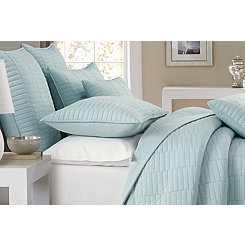 Ether Dylan Rectangles 3-pc. Full/Queen Quilt Set