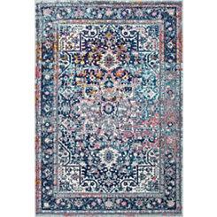 Raylene Vintage Persian Area Rug, 5x7