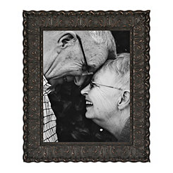 Ornate Carved Black Picture Frame, 11x14
