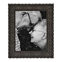 Ornate Carved Black Picture Frame, 11x14