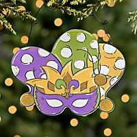 Mardi Gras Mask Plaque